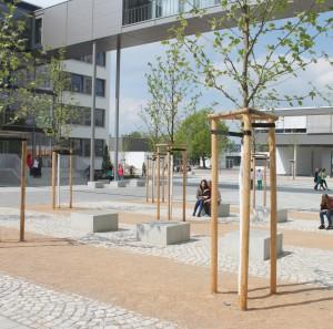 Hofraum Reclam-Gymnasium